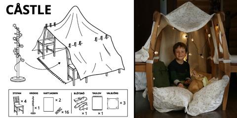 6 idées de cabanes à faire à la maison par le...