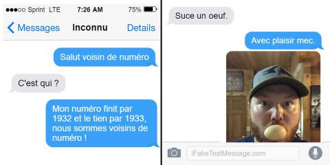 Ils envoient des textos à leurs voisins de nu...