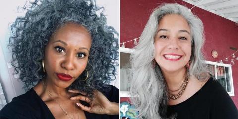 24 femmes sublimes qui ont cessé les colorati...