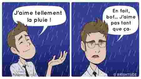 pluie = calvaire