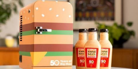 McDo vend sa sauce Big Mac et un mini frigo p...