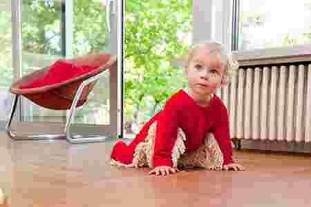 Amazon inventions bizarres Robe serpillière pour bébés