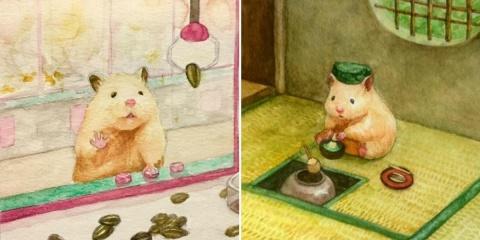 Sukeroku : un petit hamster qui a une vie tré...