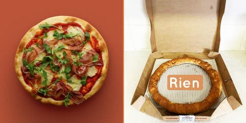 Pizza Hut lance la pizza sans garniture pour...