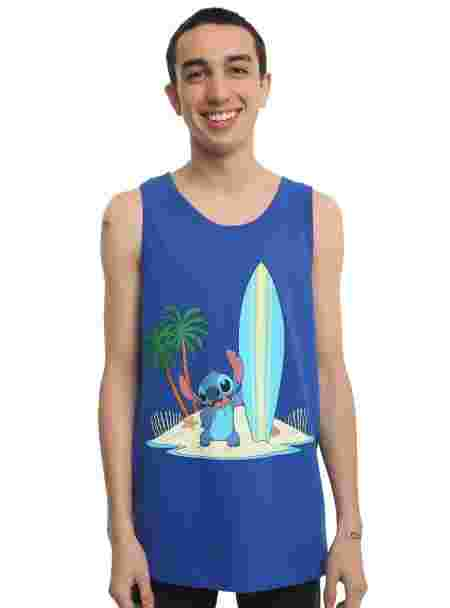 Hot Topic Lilo et Stitch Disney inspiration collection vêtements accessoires homme débardeur Stitch