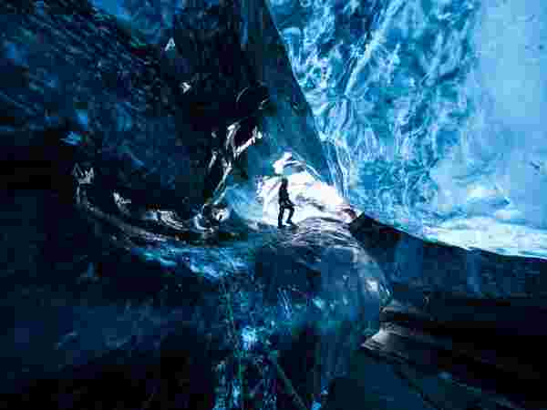 cave, cristal