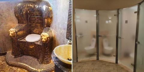 12 photographies de toilettes venues des Enfe...