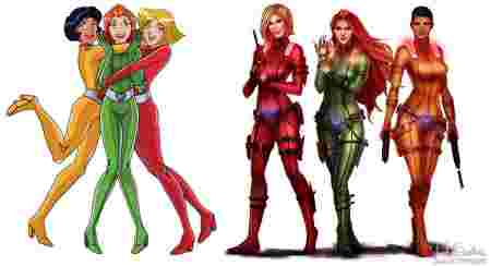 costumes totally spies adulte. Black Bedroom Furniture Sets. Home Design Ideas