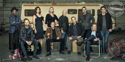 Le casting de Breaking Bad se réunit 10 ans p...
