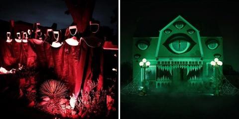 Halloween : certains n'y vont pas de main mor...