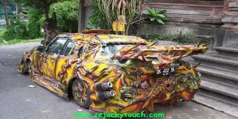 12 voitures transformées par le tuning : c'es...