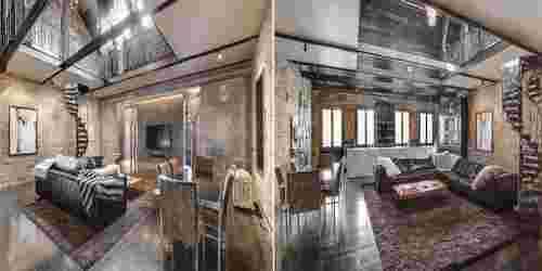 salon luxe lumiére maison
