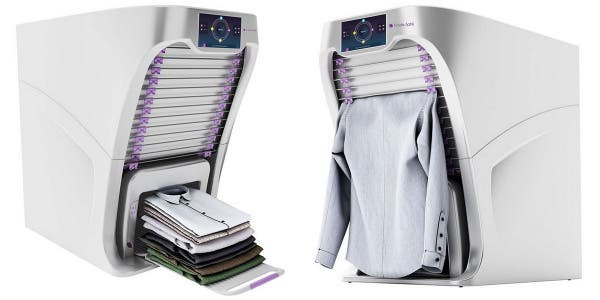 Le robot qui repasse et plie nos vêtements à...