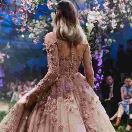 dos boutons robe paolo sebastian once upon a dream