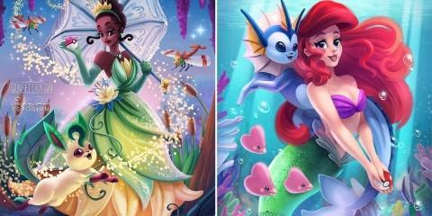 Cet artiste crée un crossover entre les princ...
