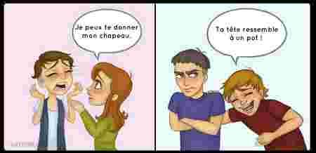 9 Dessins Sur La Difference Entre L Amitie Entre Filles Et Entre Mecs