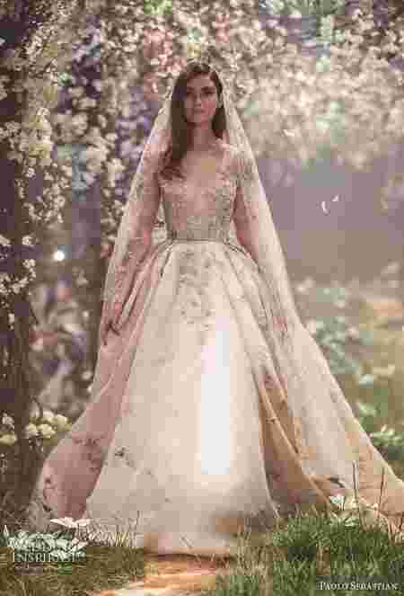 robe paolo sebastian once upon a dream mariage