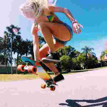 skateuse, planche, tricks