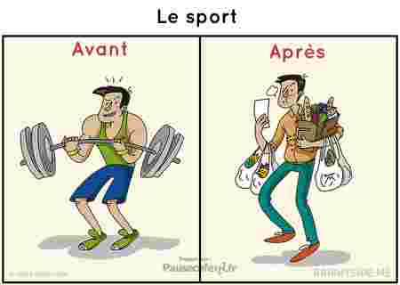 sport avant vs après