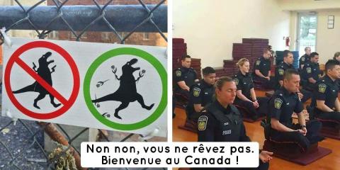 14 photos qui illustrent le Canada et sa faço...
