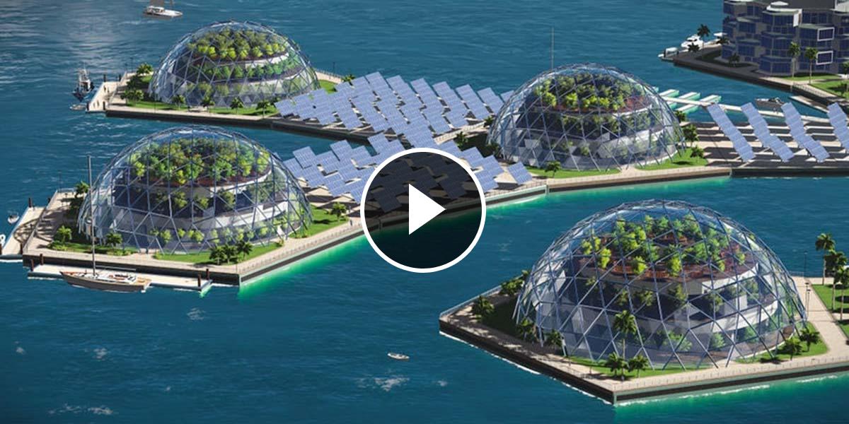 video artisanapolis la ville flottante du futur. Black Bedroom Furniture Sets. Home Design Ideas